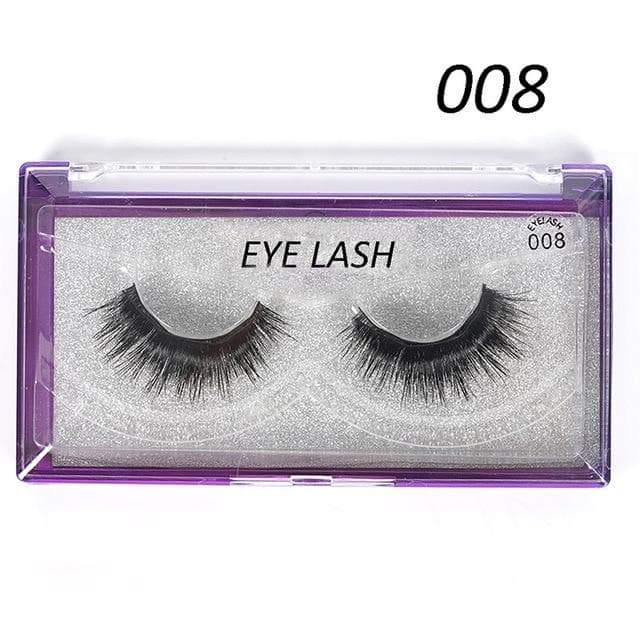 SportsChest as photo shows 2 3D Thick Magnetic Eyelashes