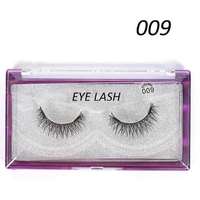 SportsChest as photo shows 3 3D Thick Magnetic Eyelashes