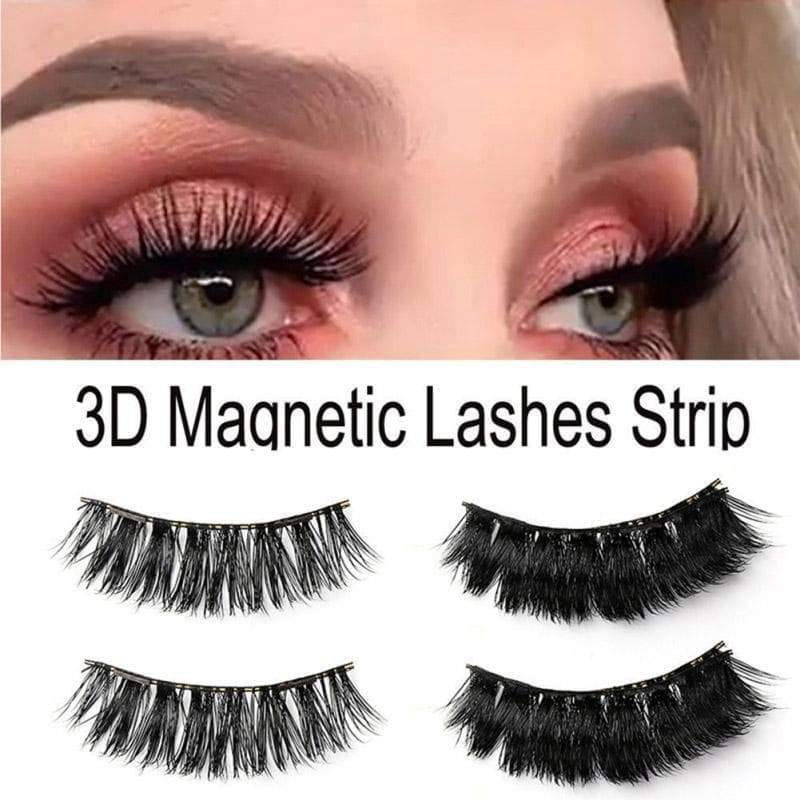 SportsChest as photo shows 3D Thick Magnetic Eyelashes