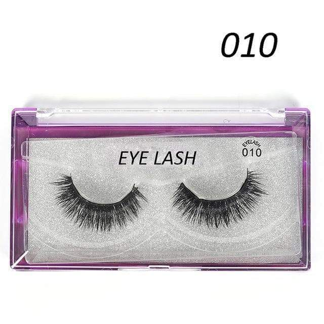 SportsChest as photo shows 4 3D Thick Magnetic Eyelashes