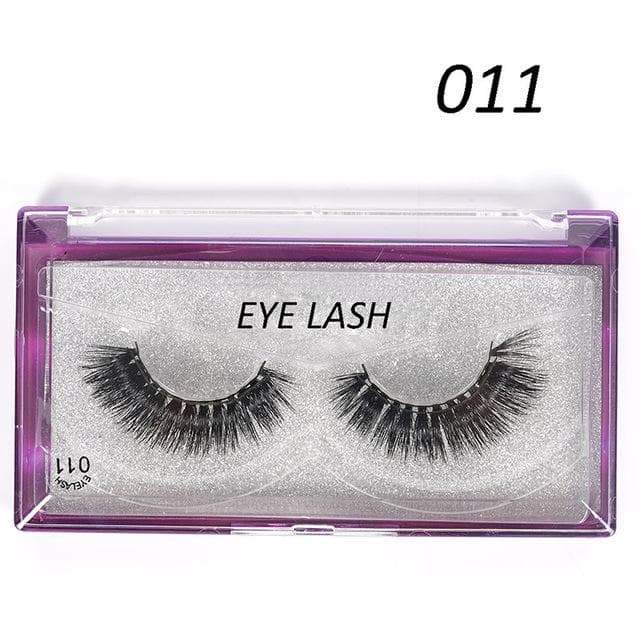 SportsChest as photo shows 5 3D Thick Magnetic Eyelashes