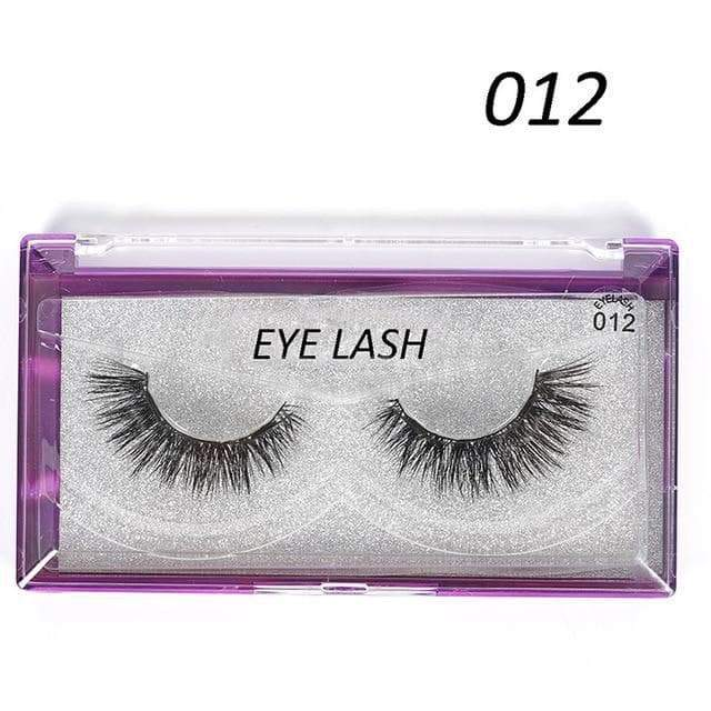 SportsChest as photo shows 6 3D Thick Magnetic Eyelashes