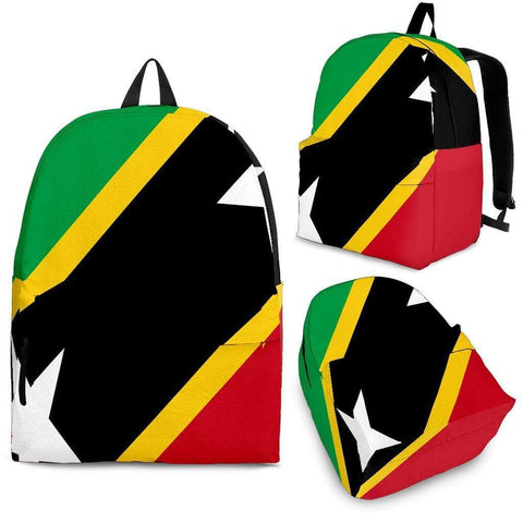 SportsChest Backpack - Black - Saint Kitts and Nevis Backpack / Adult (Ages 13+) Saint Kitts and Nevis Backpack