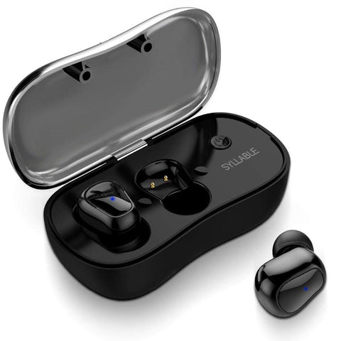 SportsChest Bluetooth Earphones 5.0 Bluetooth Wireless Earphones With Microphone & Charging Box