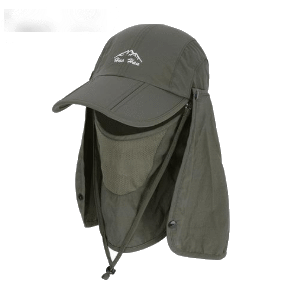 SportsChest Caps Army Green / 55-60 CM Neck & Face Sun Protection Caps
