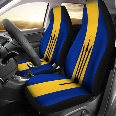 Image of SportsChest Car Seat Covers - Barbados Car Seat Cover / Universal Fit Barbados Car Seat Cover