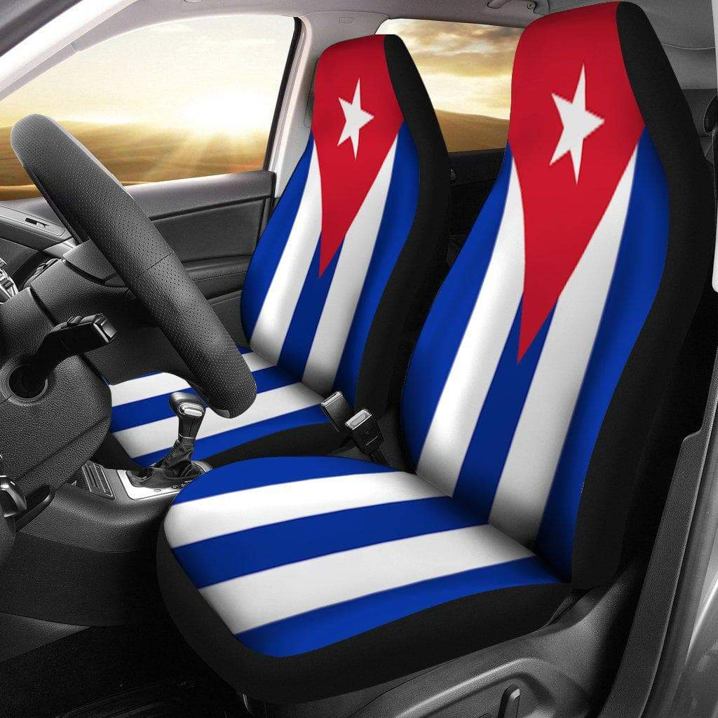 SportsChest Car Seat Covers - Cuba Car Seat cover / Universal Fit Cuba Car Seat cover