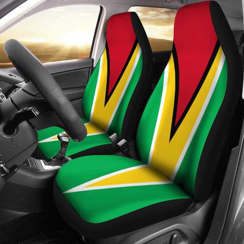 SportsChest Car Seat Covers - Guyana Car Seat Cover / Universal Fit Guyana Car Seat Cover