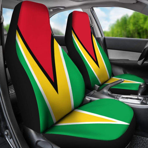 Image of SportsChest Car Seat Covers - Guyana Car Seat Cover / Universal Fit Guyana Car Seat Cover
