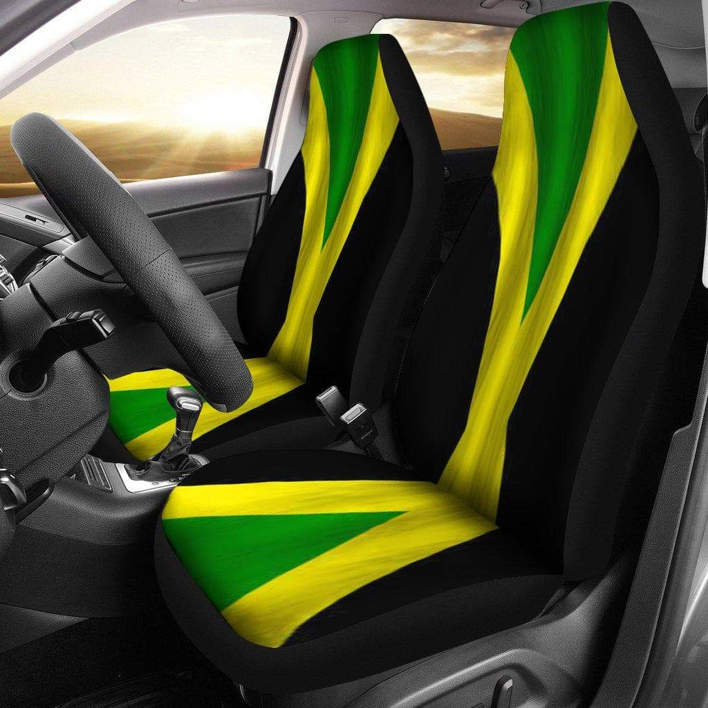 SportsChest Car Seat Covers - Jamaica car Seat Cover / Universal Fit Jamaica car Seat Cover