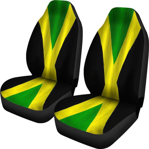 Image of SportsChest Car Seat Covers - Jamaica car Seat Cover / Universal Fit Jamaica car Seat Cover