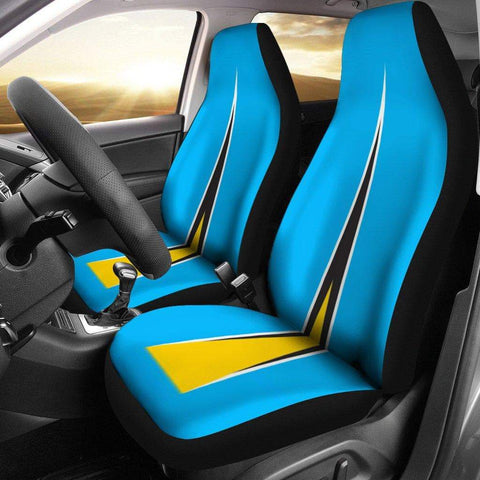 Image of SportsChest Car Seat Covers - St Lucia Car Seat Cover / Universal Fit St Lucia Car Seat Cover