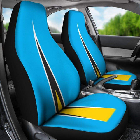 Image of Saint Lucia Custom Design Car Seat covers