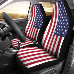 SportsChest Car Seat Covers - United States Car Seat Cover / Universal Fit United States Car Seat Cover