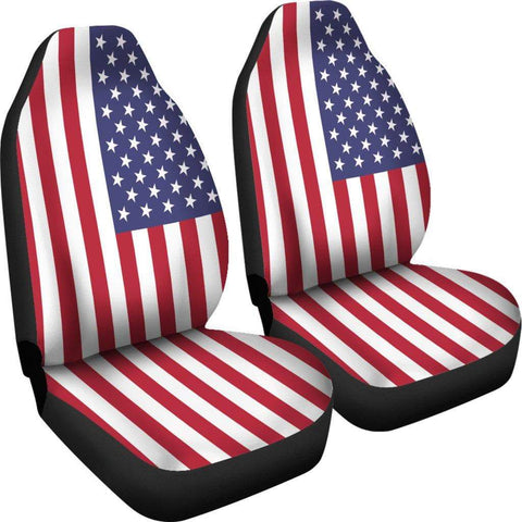 Image of SportsChest Car Seat Covers - United States Car Seat Cover / Universal Fit United States Car Seat Cover