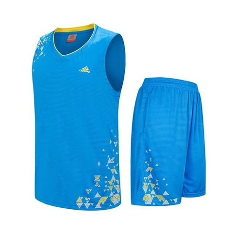 Image of SportsChest Clothing 8090 blue / S Kids Basketball Jersey Sets