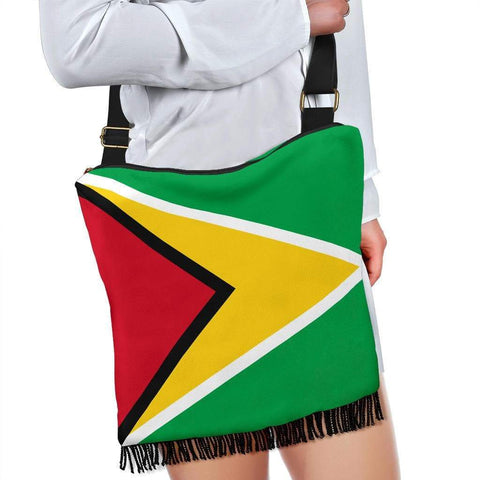 Image of SportsChest Crossbody Boho Handbag - Guyana Boho Bag / One Size Guyana Boho Bag