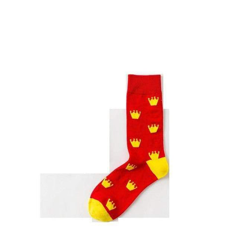 Image of SportsChest Crown / EUR36-44 Women's Funny Cool Socks