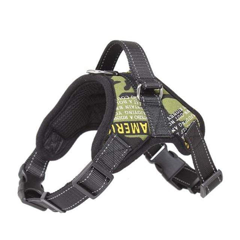 Image of SportsChest Dog Harness CAMOUFLAGE 3 / S Dogs Harness