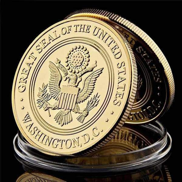 SportsChest Gold USA Military Collection Coin