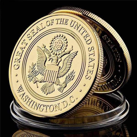 Image of SportsChest Gold USA Military Collection Coin
