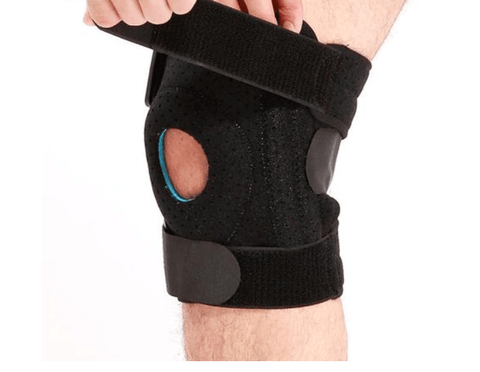 Image of SportsChest Knee Support Black / Left Leg Knee Support