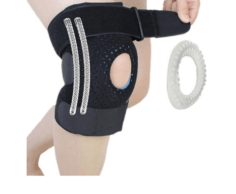 Image of SportsChest Knee Support Black / Right Leg Knee Support