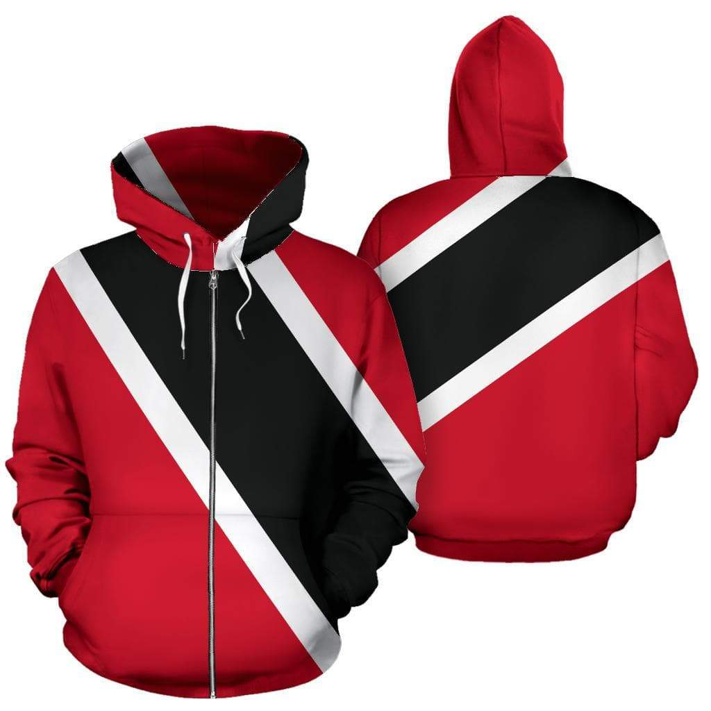 SportsChest Trinidad & Tobago Zip Up Hoodie