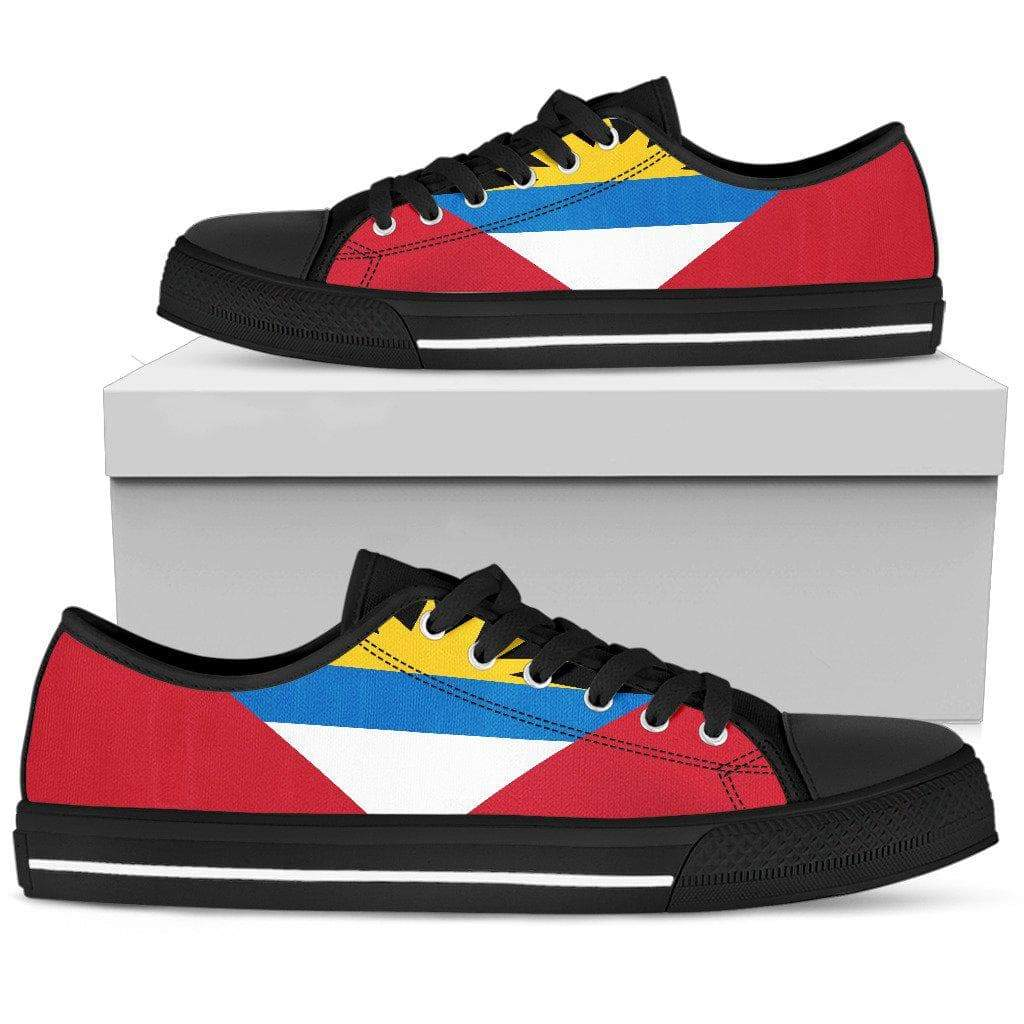 SportsChest Mens Low Top - Black - Antigua and Barbuda Low top shoes