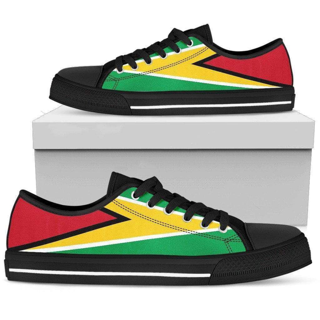 SportsChest Mens Low Top - Black - Men's Guyana Low Top Shoes / US5 (EU38) Men's Guyana Low Top Shoes