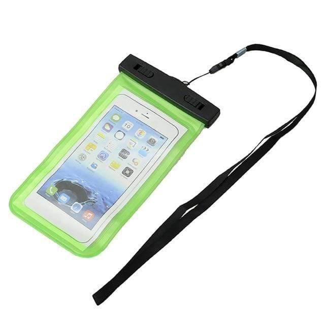 SportsChest Phone Case Green Waterproof Phone Pouch