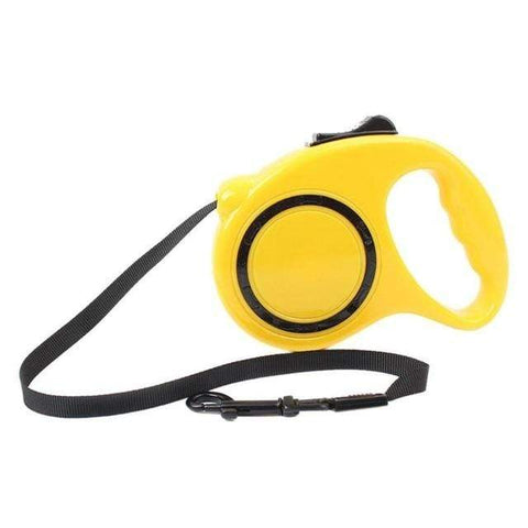 Image of SportsChest Retractable Dog Leashes Yellow / 3M Retractable Dog Leashe