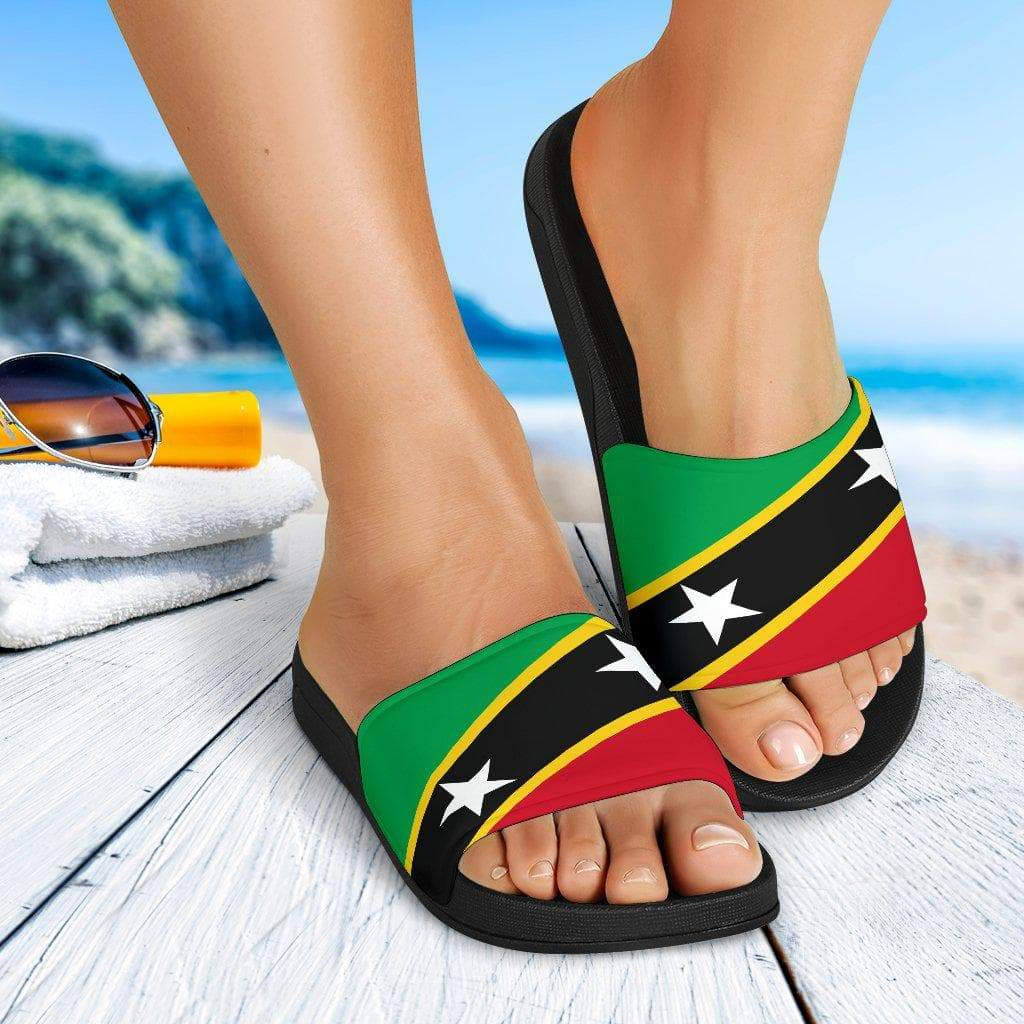 SportsChest Saint Kitts and Nevis Slide Sandals