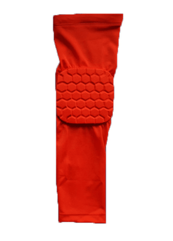 Image of SportsChest Sports Sleeve Red / L Padded Sports Elbow Sleeve