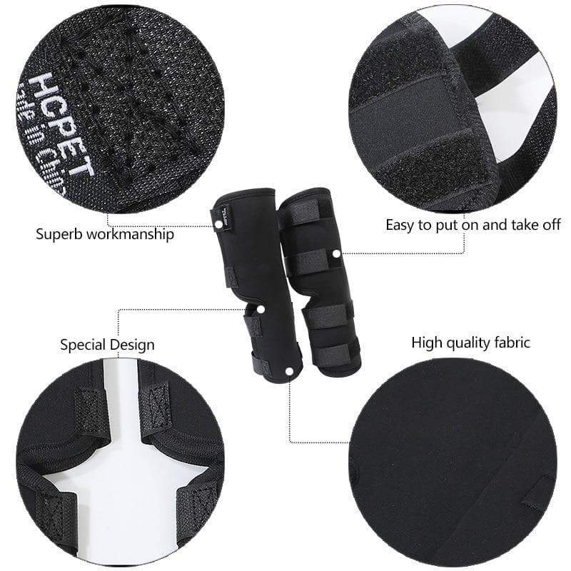 SportsChest STORE 1 Set Pet Dog Bandages Dog Leg Knee Brace Straps Protection for Dogs Joint Bandage Wrap Doggy Medical Supplies Dogs Accessories3