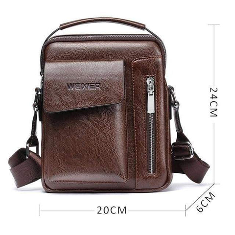 SportsChest STORE 10 Men's Vintage Cross body Shoulder Bags
