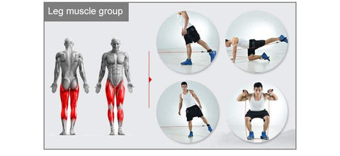 Image of SportsChest STORE 11pcs/set Fitness Exercises Resistance Bands