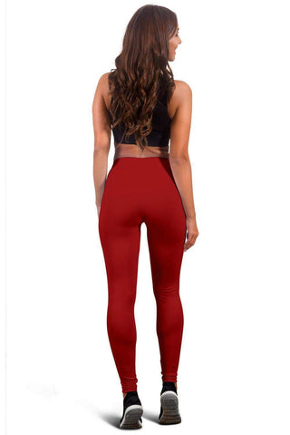 Image of SportsChest STORE #12 London Women's Red Leggings Red