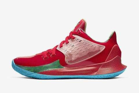 Image of SportsChest STORE Basketball Shoes Sponge x Kyrie Low 2 Mr. Krabs & Sandy