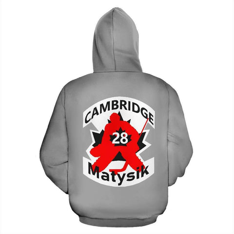 Image of SportsChest STORE #28 Matysik Cambridge Hockey Grey Hoodie