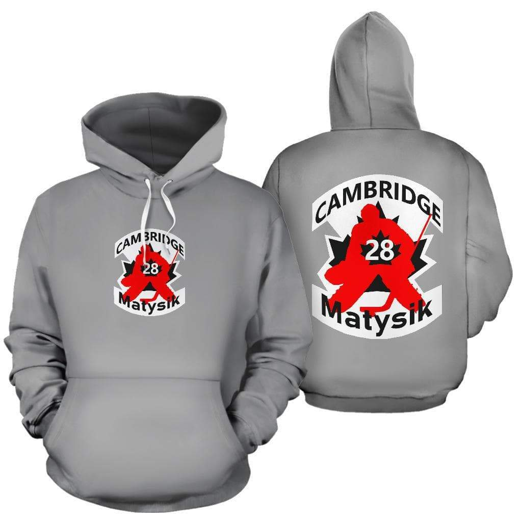 SportsChest STORE #28 Matysik Cambridge Hockey Grey Hoodie