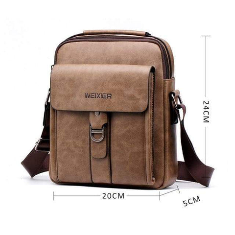 SportsChest STORE 3 Men's Vintage Cross body Shoulder Bags