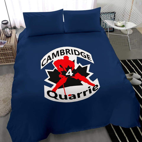 Image of SportsChest STORE #4 Quarrie Cambridge Hockey Blue Bedding Set