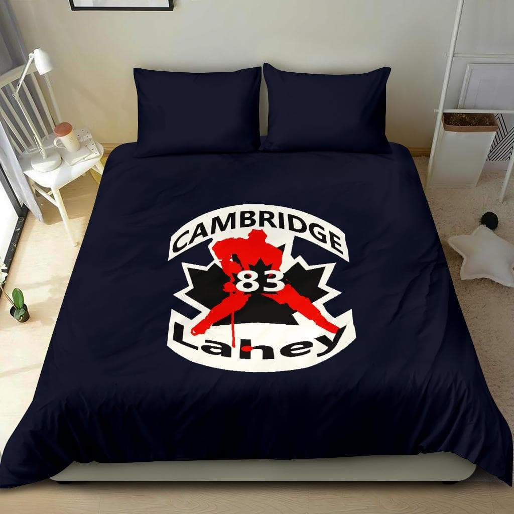 SportsChest STORE #83 Lahey Cambridge Hockey Blue Bedding Set