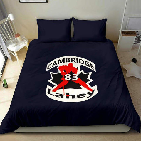 Image of SportsChest STORE #83 Lahey Cambridge Hockey Blue Bedding Set
