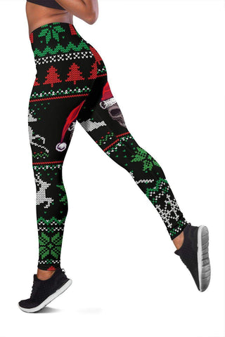 Image of SportsChest STORE Christmas Santa Skull Leggings