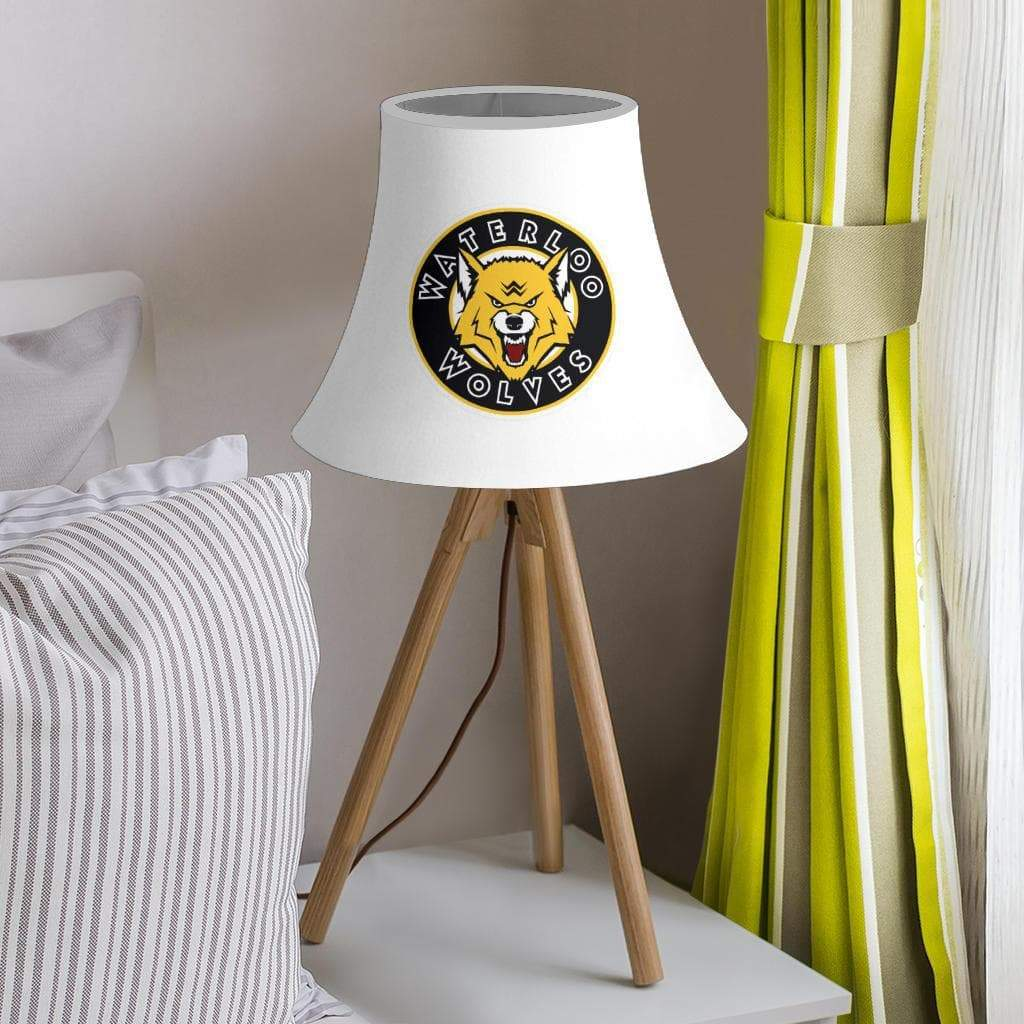 SportsChest STORE Lamp Shade - White Bell Lamp Shade / One Size Waterloo Wolves White Bell Lamp Shades