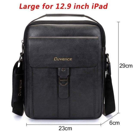 SportsChest STORE Large for 12.9 Ipad 2 Men's Vintage Cross body Shoulder Bags