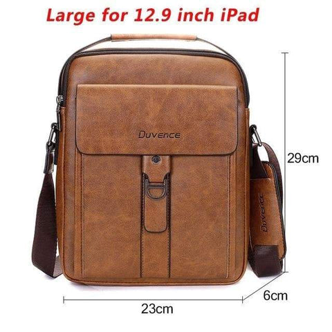 SportsChest STORE Large for 12.9 Ipad 3 Men's Vintage Cross body Shoulder Bags