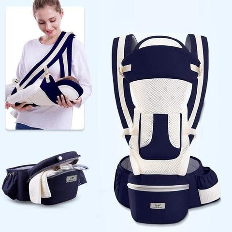 SportsChest STORE summer-dark blue 0-48M Ergonomic Front Facing Baby Carrier